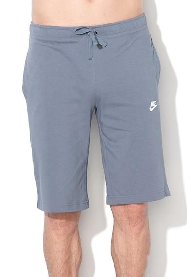 Nike Bermude sport cu logo brodat Barbati