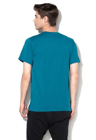 Nike Tricou cu imprimeu logo si Dri Fit pentru fitness Barbati