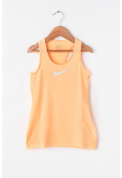 Nike Top cambrat, pentru alergare Dri-Fit Fete