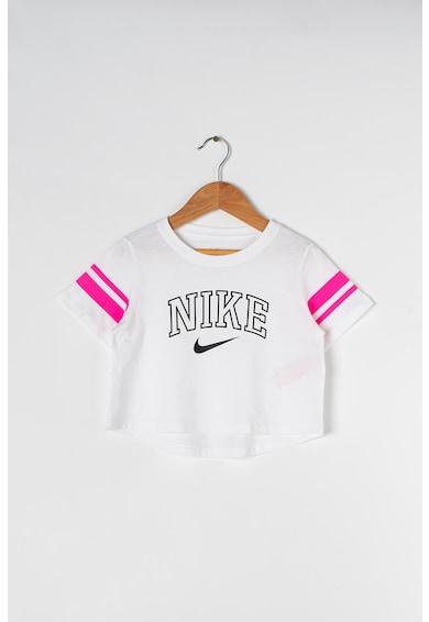 Nike Къса тениска с лого Момичета