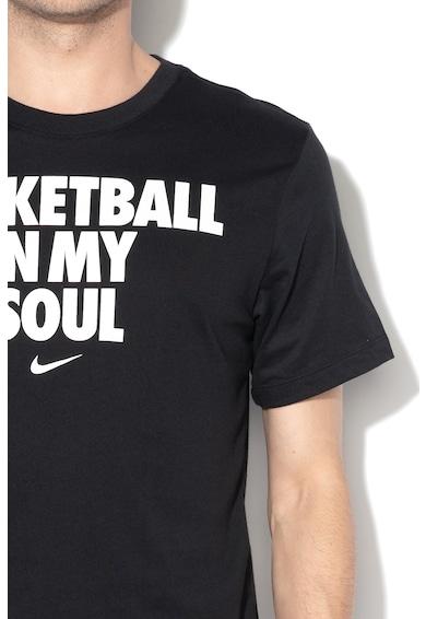 Nike Dri-Fit feliratos póló férfi
