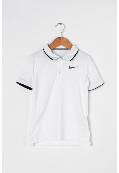 Nike Normál fazonú galléros teniszpóló Dri-Fit technológiával Fiú