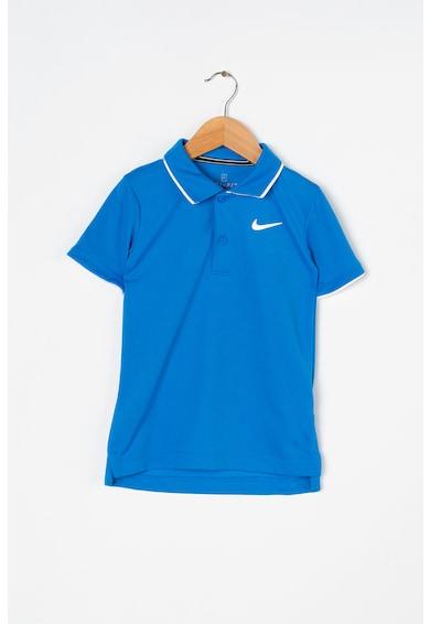 Nike Тениска за тенис Dri-Fit с яка Момчета