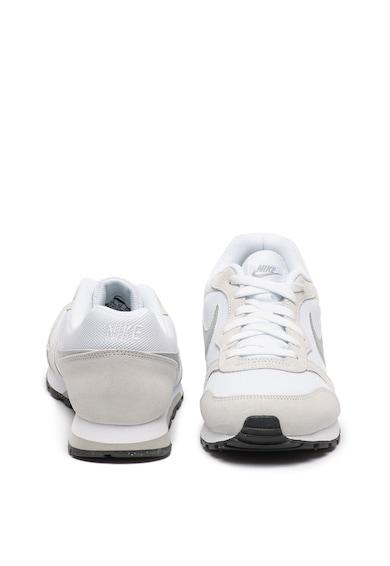 Nike Pantofi sport de piele intoarsa si plasa MD Runner 2 Barbati