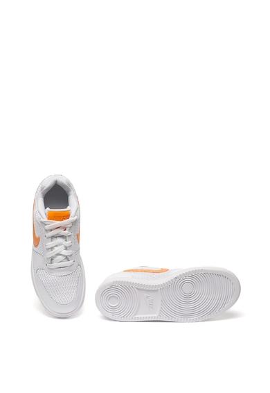 Nike Ebernon kötött hatású sneaker bőrszegéllyel női