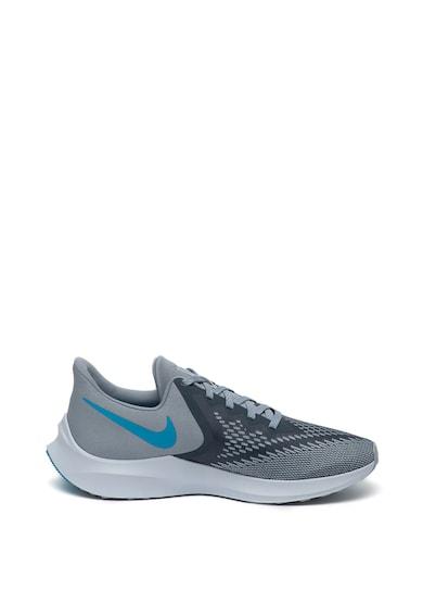Nike Pantofi cu logo cauciucat, pentru alergare Zoom Winflo 6 Barbati