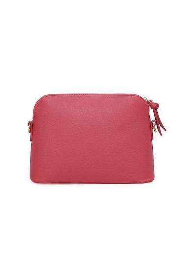 Laura Ashley Кожена чанта за рамо Mink Жени