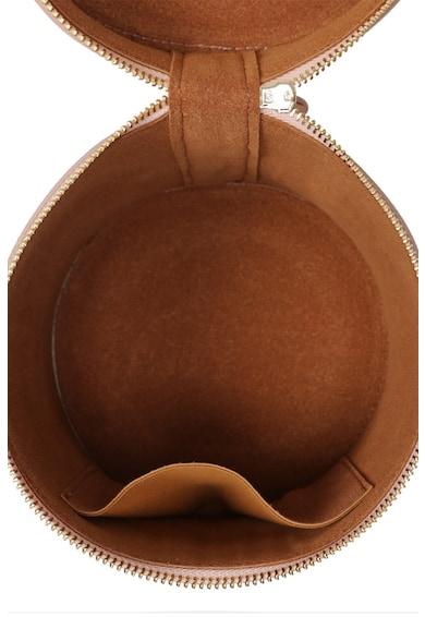 Laura Ashley Geanta cilindrica de piele cu bareta pentru umar Femei