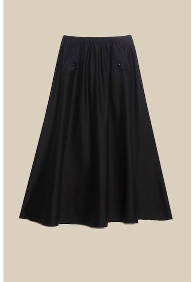 Oltre A-vonalú pliszírozott szoknya női