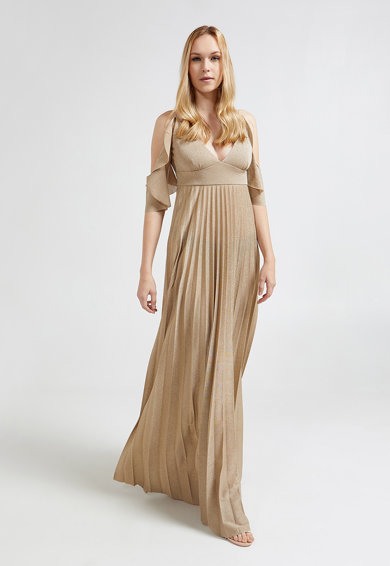 d0f77301f0 Kivágott vállú pliszírozott ruha - Motivi (7368Q0887G-02)