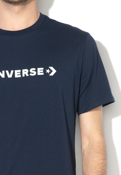 Converse Tricou cu imprimeu logo si model chevron Barbati