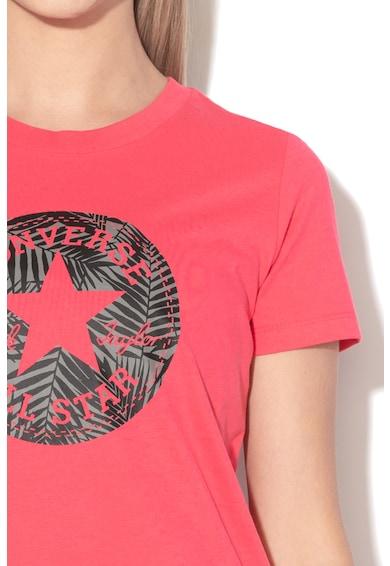 Converse Tricou regular fit cu imprimeu logo Femei