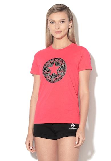 Converse Десенирана тениска с лого Жени