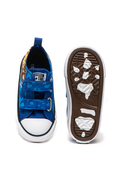 Converse Chuck Taylor All Star mintás, tépőzáras cipő Lány