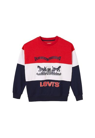 Levi's Kids Bluza sport cu model colorblock Baieti