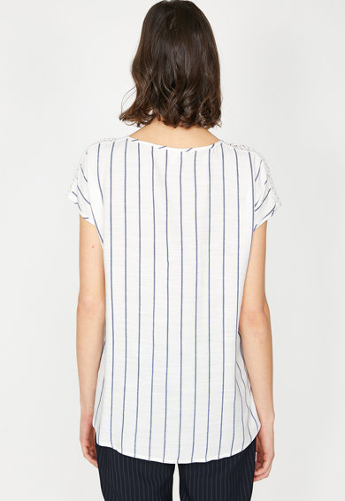KOTON Bluza cu insertii crosetate Femei