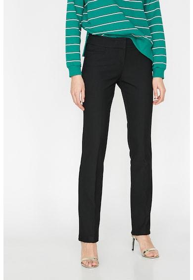 KOTON Pantaloni slim fit, cu pensa Femei