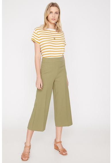 KOTON Pantaloni culotte cu pensa Femei