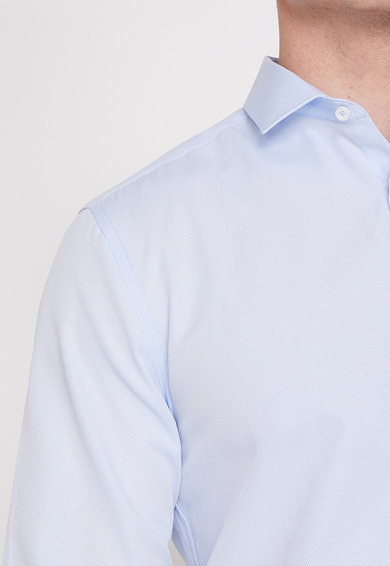 KOTON Риза по тялото с дълги ръкави Мъже