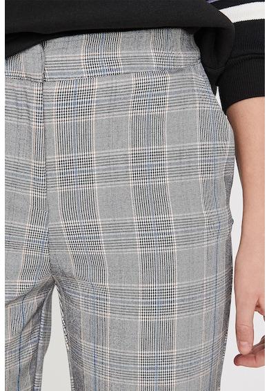 KOTON Pantaloni conici cu model in carouri Femei