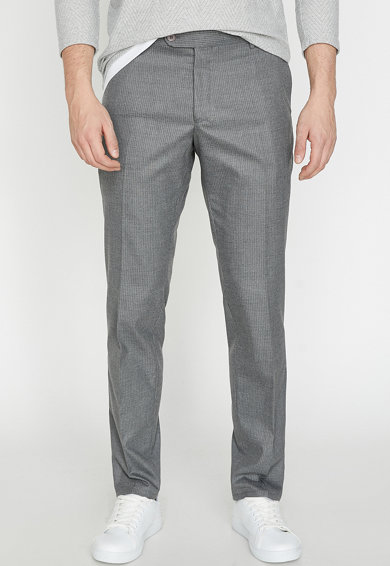 KOTON Pantaloni slim fit in carouri Barbati