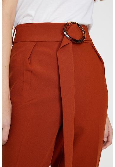 KOTON Pantaloni slim fit cu o curea Femei