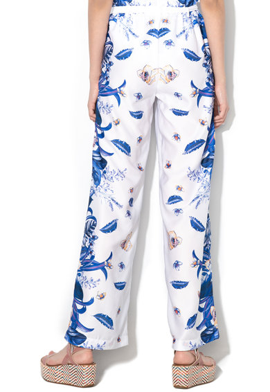 Liu Jo Virágmintás magas derekú nadrág női