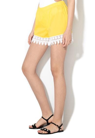 Liu Jo Pantaloni scurti de plaja cu detalii crosetate Femei