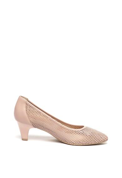 Caprice Pantofi de piele cu perforatii Femei