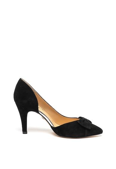 Caprice Pantofi d'Orsay de piele intoarsa, cu varf ascutit Femei
