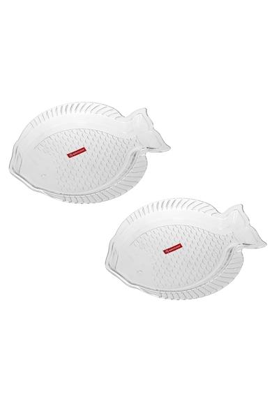 Noritazeh Set 2 platouri  Fish, 24 x 17 cm Femei