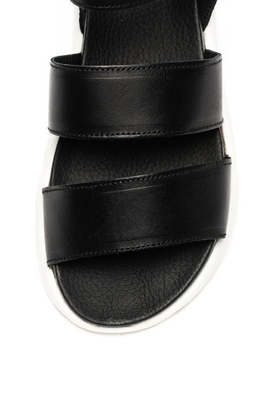 Bullboxer Sandale wedge de piele Femei