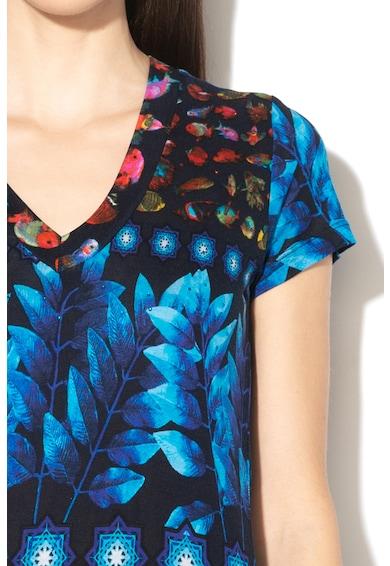 DESIGUAL Erika mintás póló női