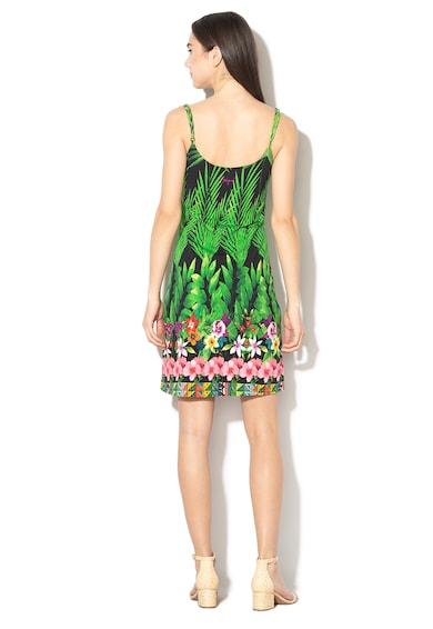 DESIGUAL Annette virágmintás A-vonalú ruha női