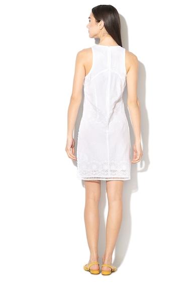 DESIGUAL Bibi egyenes fazonú ruha virágmintás hímzéssel női