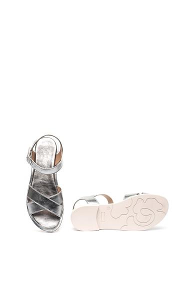 Zee Lane Sandale de piele cu aspect metalizat Lory Lam Femei