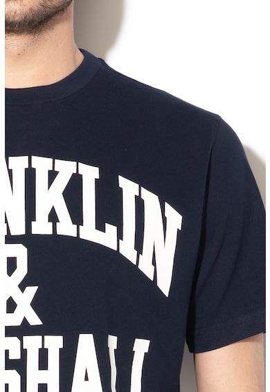 Franklin & Marshall Tricou din bumbac cu imprimeu logo Barbati