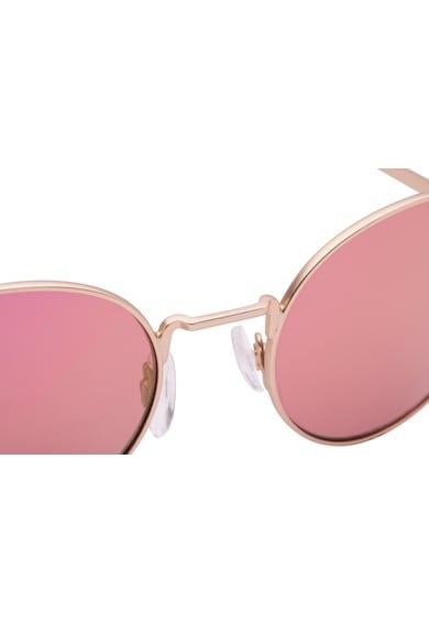 Hawkers Ochelari de soare rotunzi unisex cu rama din otel inoxidabil Femei