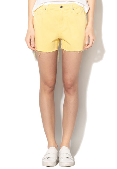 Vero Moda Pantaloni scurti din denim cu terminatii franjurate Ania Femei