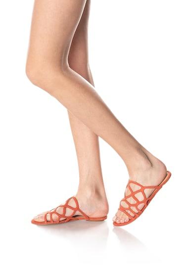 Vero Moda Papuci de piele intoarsa Alyssa Femei