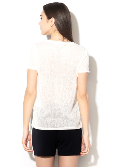 Only Tricou din tricot cu diverse aplicatii Mandy Femei