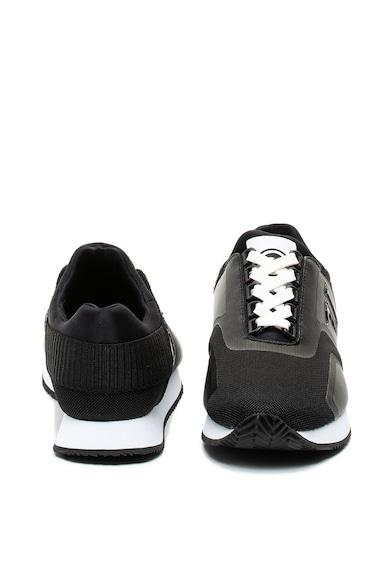Trussardi Jeans Pantofi sport slip on cu garnituri de piele ecologica Femei