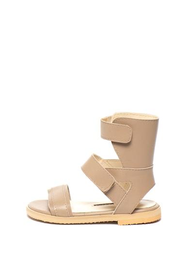 Mihaela Glavan Sandale de piele cu velcro Fete