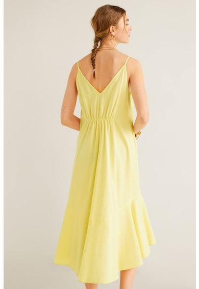 Mango Chelsea ruha fodros alsó szegéllyel női