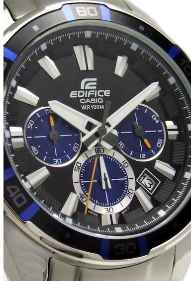 Casio Часовник с хронограф и контрастни детайли Мъже
