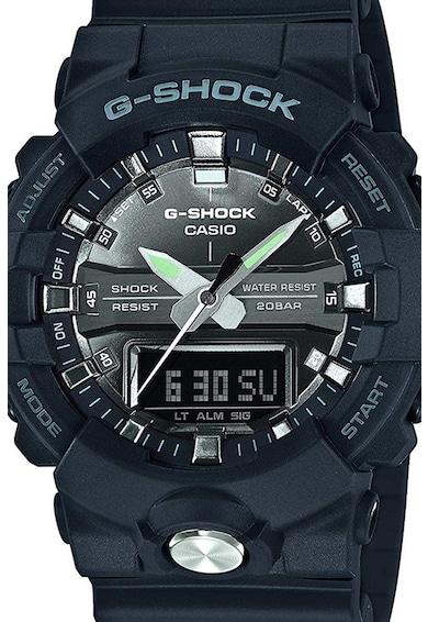 Casio Ceas G-Shock cu functii multiple si bratara din rasina Barbati