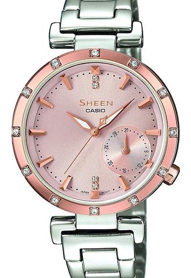 Casio Ceas quartz decorat cu cristale Swarovski Femei
