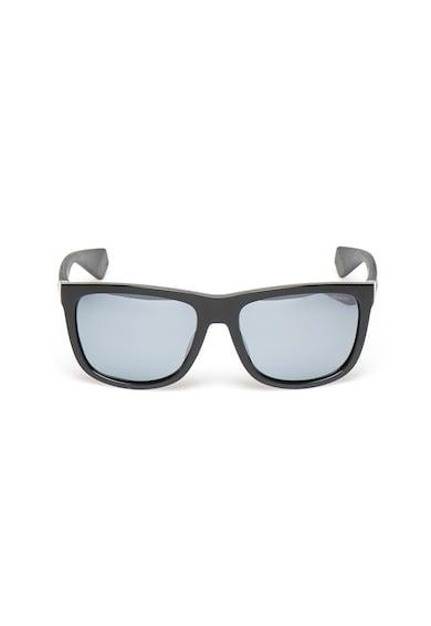 Polaroid Ochelari de soare cu lentile oglinda ultrapolarizate si rama patrata Femei