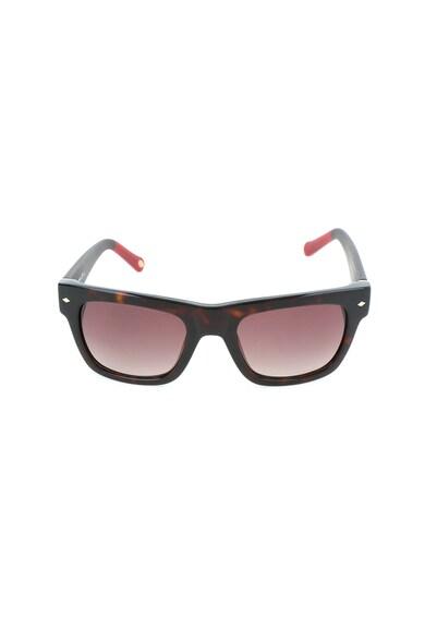 Fossil Квадратни слънчеви очила с лого Мъже