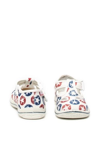 Primigi Pantofi cu imprimeu cu stele si inchidere laterala Fete